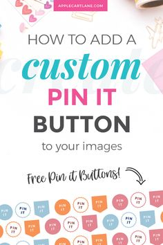 If you've wondered how to create your own custom pin it button for your WordPress website, read on for a simple 5 step process to getting your own. How To Start A Blog, How To Make Money, Pinterest Images, Pinterest Design, Pinterest Pin, Blog Images, Pinterest For Business, Affiliate Marketing, Content Marketing