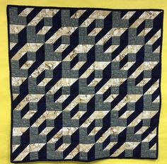 3D quilt by Linda Kuch, Mennonite Country Auction 2017