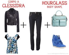 hourglass body shape: easter casual look