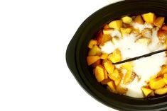 Mermelada de melocotón y vainilla. Receta para Crock Pot #crockpot #crockpotting #slowcooking #slowcooker #recetas #mermelada #melocotón
