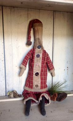 Old St. Nick........ tracieanddonnie..... Etsy