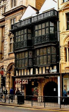 12th Century Prince Henrys Room, Fleet Street, London photo via linda