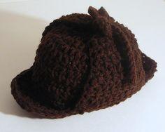 free  sherlock patterns | Sherlock Holmes Hat pattern by Heather Sonnenberg....for the Sherlock ...