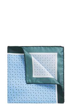 BOSS - Italian-made silk pocket square with printed motif Mens Keychains, Hugo Boss, Boss 2, My Pocket, Bracelet Designs, Leather Wallet, Fashion Accessories, Mens Fashion, Silk