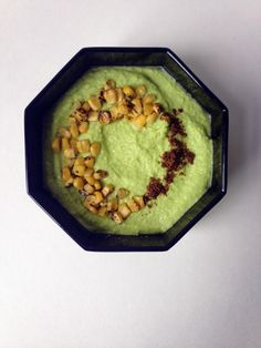 16. Chilled Edamame Gazpacho With Roasted Corn and Curried Salt #greatist https://greatist.com/eat/cold-soup-recipes-for-summer