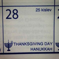 Have you heard about Thanksgivukkah? | How To Celebrate Thanksgivukkah, The Best Holiday Of All Time