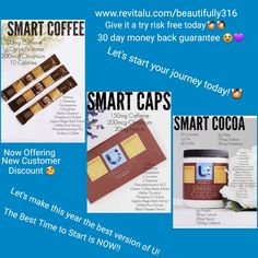 Revital U! 😍💪👍👌 Comment below before you check out for discount! Hurry won't last long! Coffee Review, Caffeine, Feelings, Day, Check