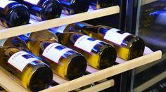 NewAir Capacity Stainless Steel Wine Chiller at Lowe's. The roomy NewAir Built-In Dual Zone 52 Bottle Wine Fridge slides between standard base cabinets to create a custom, built-in wine cellar in your Best Wine Coolers, Wine Vineyards, Wine Chiller, Wine Collection, Wine Fridge, Wine Parties, In Vino Veritas