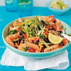 Mexican Pasta Salad #Easy #Recipe #SouthAfrica