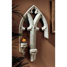 Found it at Wayfair - Falkenberg Palace Architectural Wall Décor Gothic Windows, Arched Windows, Window Wall Decor, Medieval Gothic, Animal Statues, European Home Decor, Wall Crosses, Unique Gardens, Gothic Architecture