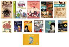 livres pour enfants sur Léonard de Vinci Amboise, France, Paris, Baseball Cards, History, School, Artists, Livres, Children