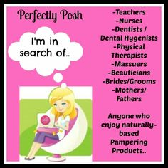 Do you know anyone listed above? Introduce me! I am looking for women who want to make extra money working from home doing a super fun job! Refer me to your friends, tell them about the Pampering pursuit! Everyone can afford to invest in themselves, with Posh it's just $99! Www.perfectlyposh.com/13471 #perfectlyposh #spa #picoftheday #moms #relax #jobs #moms #workfromhome #networkmarketing