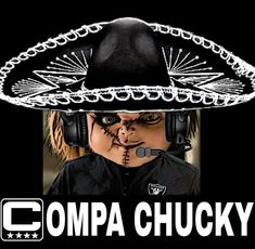 Okland Raiders, Raiders Stuff, Oakland Raiders Football, Raiders Baby, Chucky, Football Memes, Sports Memes, Oakland Raiders Wallpapers, Houston Texans Football