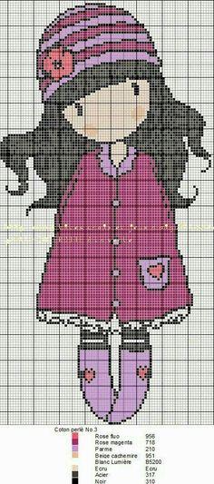 gorjuss cross stitch patterns ile ilgili görsel sonucu