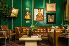 Ken Fulk's Decadent NYFW Lounge Is an Ode to Fame