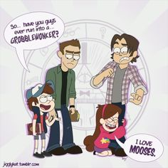My brother is obsessed with gravity falls and he showed me this. I think I died.