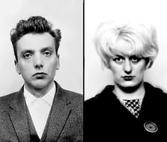 Ian Brady and Myra Hindley, aka the Moors Murderers, were a young couple who killed five people, four of them children, together.