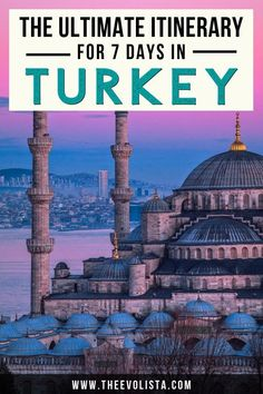 A Turkey Itinerary 7 Days | Turkey Travel Guide | Beautiful Places in Turkey | Things to do in Turkey | Blue Mosque Turkey | Turkey Travel | Turkey Trip | How to spend 7 Days in Turkey | Istanbul Travel | Things to do in Istanbul | Istanbul Grand Bazaar | Cappadocia Turkey | Hot Air Balloon Cappadocia | Turkish Riviera Resorts | Where to go in Turkey | Things to do in Turkey #istanbul #cappadocia #ephesus #turkey #bodrum