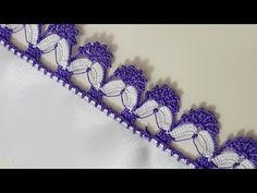 Sequential Crochet Lace Making – Dizi Filmler Burada Crochet Borders, Filet Crochet, Crochet Stitches, Crochet Shoes, Crochet Lace, Rope Crafts, Diy And Crafts, Diy Flowers, Crochet Flowers