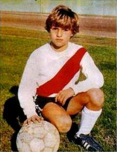 Young Hernan Crespo