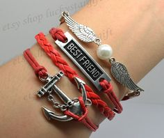 Cool white wings pearl hand catenary anchor best by luckystargift, $4.99