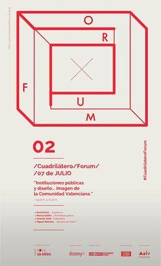 """""""Instituciones públicas y diseño… Imagen de la Comunidad Valenciana""""  Hoy 19:30h en @LasNaves #CuadrilateroForum"""