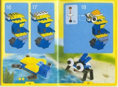 The website has tons of instructions for building different LEGO creations. Make and Create - Little Creations [4401]