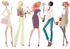 Ilustradores de moda: Adrian Valencia
