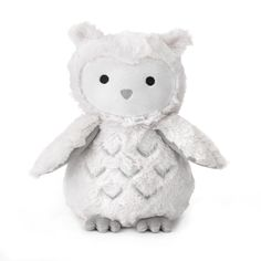 Lambs & Ivy Luna Owl Plush Toy In White - Gift your little one the Luna Owl Plush Toy by Lambs & Ivy for a soft and cuddly forever friend. Adorned with faux fur and velour detailing, this sweet and lovable plush is sure to fill your child's room with joy. Newborn Baby Gift Set, Baby Gift Sets, Baby Gifts, Pet Toys, Baby Toys, Kids Toys, Toddler Toys, Owl Nursery, Vestidos