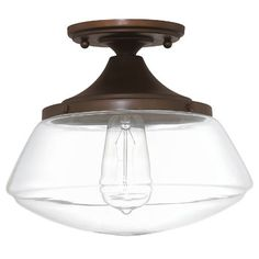 You'll love the Arthur 1 Light Semi Flush Mount at Wayfair.ca - Great Deals on all Lighting products with Free Shipping on most stuff, even the big stuff.