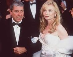 °lc° Leonard Cohen and Rebecca de Mornay at The 64th Annual Academy Awards (1992)