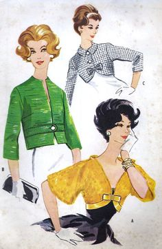 McCall's 4893  ~ I love the green jacket!