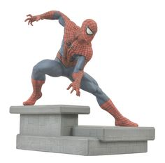 The Amazing Spider-Man 2 Movie Statue Spider-Man - The Movie Store Amazing Spiderman, Spiderman Poses, Toy Art, Hades, Fantasy Figures, Action Figures, Dragon Ball, Marvel Statues, Diamond Comics