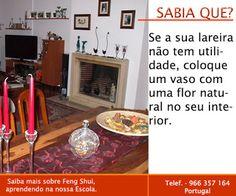 Escola Portuguesa de Feng Shui: SABIA QUE ... LAREIRA