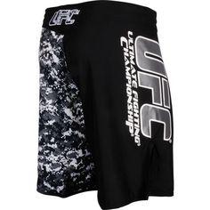 UFC Official MMA/Sports Black Grey Urban Street Camo Shorts  http://www.beststreetstyle.com/ufc-official-mmasports-black-grey-urban-street-camo-shorts/