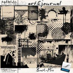 art & journal {Brushmix}