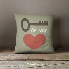 Love saying pillows Throw pillows with words от ReStyleGraphic