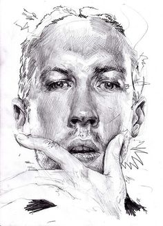 294 best joe monahan portrait images on pinterest graphite