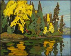 Lawren Stewart Harris, Mongoose Lake, Algoma II (Algoma Sketches XI) circa 1920