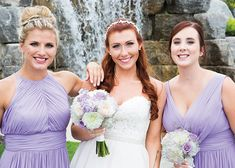 Love this lilac wedding. 😍 They say to pick a colour that compliments you (the bride) and I think this is done so perfectly! Lilac Wedding, Our Wedding, Blooms Florist, Beautiful Bride, Compliments, Bridesmaid, Colour, Weddings, Photo And Video