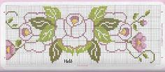 graficos de ponto cruz flor - Pesquisa Google