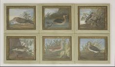 A...B... (18th century) A TURTLE DOVE; A DIVER; A BRAMBLING; A REDWING; A CORNCRAKE; A SNIPE A set of six, five indistinctly signed and two dated 1723 and 1725, bodycolour 21.5 x 26cm  Sold for £2100 on 14th March 2017