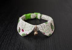 Christmas  Pet Collar for cat, dog, tiny dog