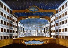 """""""Lo scenario e l'illuminazione del Teatro di S. Samuele"""", 1779?-1792 #gabrielbella #querinistampalia"""