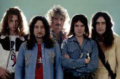 Uriah Heep - David Byron, Mick Box, Paul Newton, Ken Hensley, Ian Clarke, Copyright: DAVIDS/D.ZILL - DALLE © LUZ