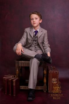 Most incredible Boys suits ever!  Gotta love UB style. www.unrulyblue.co.uk