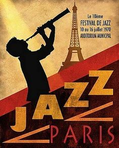 1970 jazz in paris prints & posters by conrad knutsen picture on ...