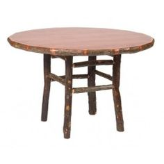 find this pin and more on kitchen and dining fireside lodge hickory round casual dining table