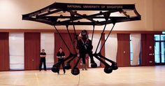 Giant #drone transports humans, but only indoors, for now via @mashable by @adariostrange #tech