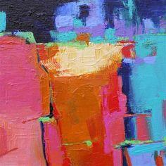 """Daily Paintworks - """"Talus"""" - Original Fine Art for Sale - © Elizabeth Chapman"""